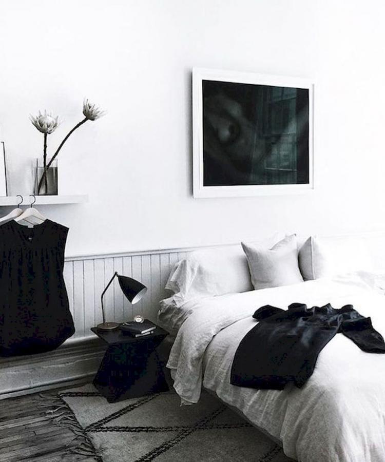 60 Simple Minimalist Bohemian Bedroom Inspirations On A Budget