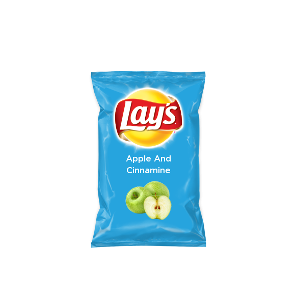 apple and cinnamine on Lay's Original