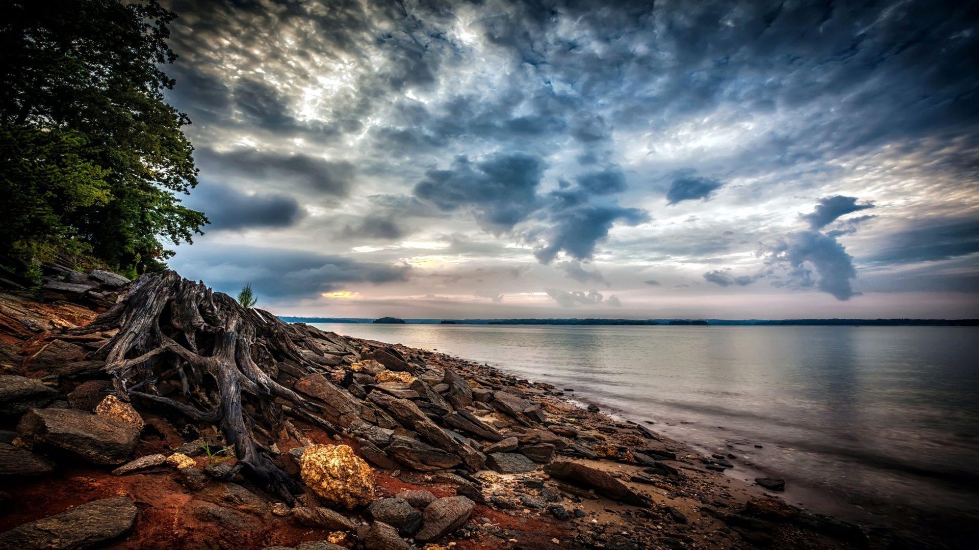 Coastal Waters HD Desktop Background wallpaper free ...