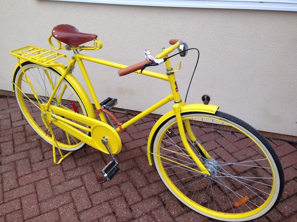 Great 1920s Retro Bike For Sale With Brooks Brothers Seat And Handle Grips With Cool Leather Carry Strap 295 00 Retro Bike Bikes For Sale Bike