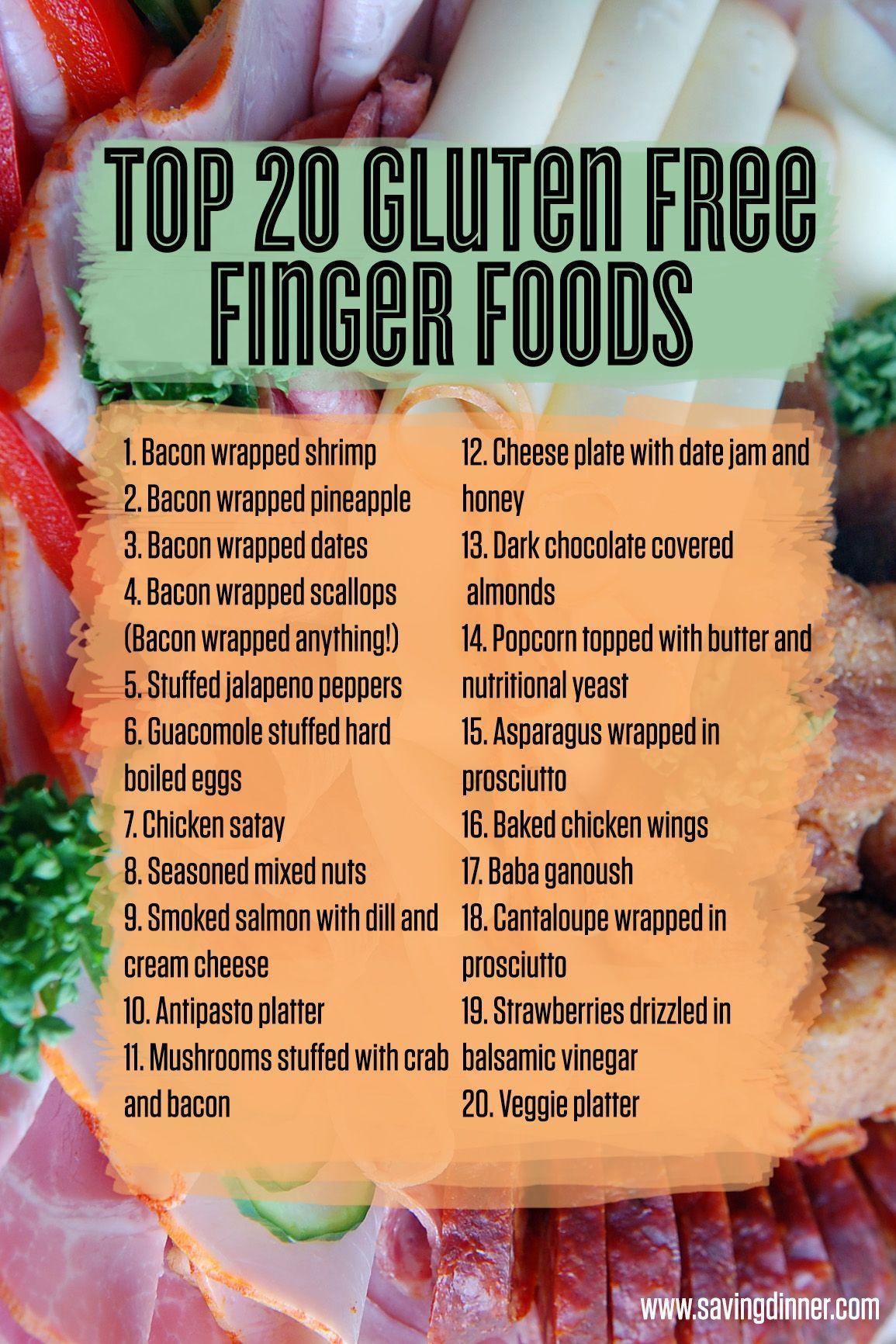 Photo of Gluten free finger foods – Saving Dinner