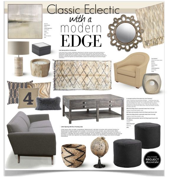 """""""Classic Eclectic With a Modern Edge With Mimosa Lane 2"""" by jpetersen on Polyvore"""