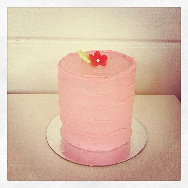 Cute small cake.