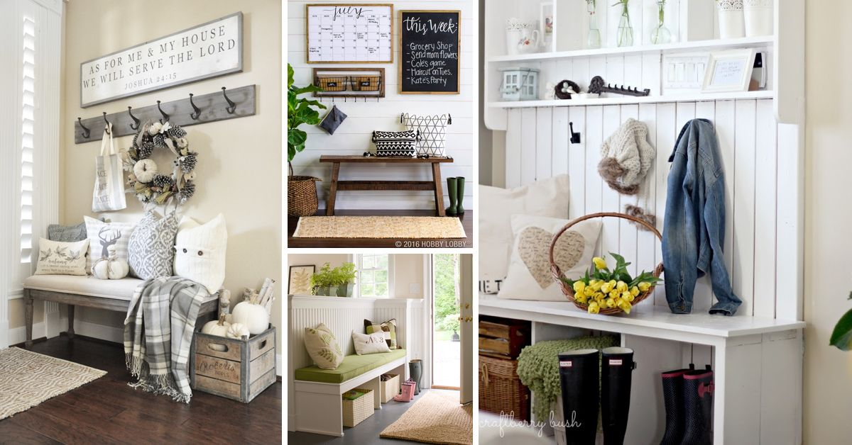 24 ultra chic mudroom ideas turning your entryway into an on inspiring diy garage storage design ideas on a budget to maximize your garage id=82596