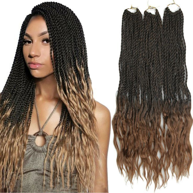 18 Senegalese Twist Braids Synthetic Loose Curly Ended Crochet Hair Extensions ... #crochetsenegalesetwist 18 Senegalese Twist Braids Synthetic Loose Curly Ended Crochet Hair Extensions ... #crochetsenegalesetwist