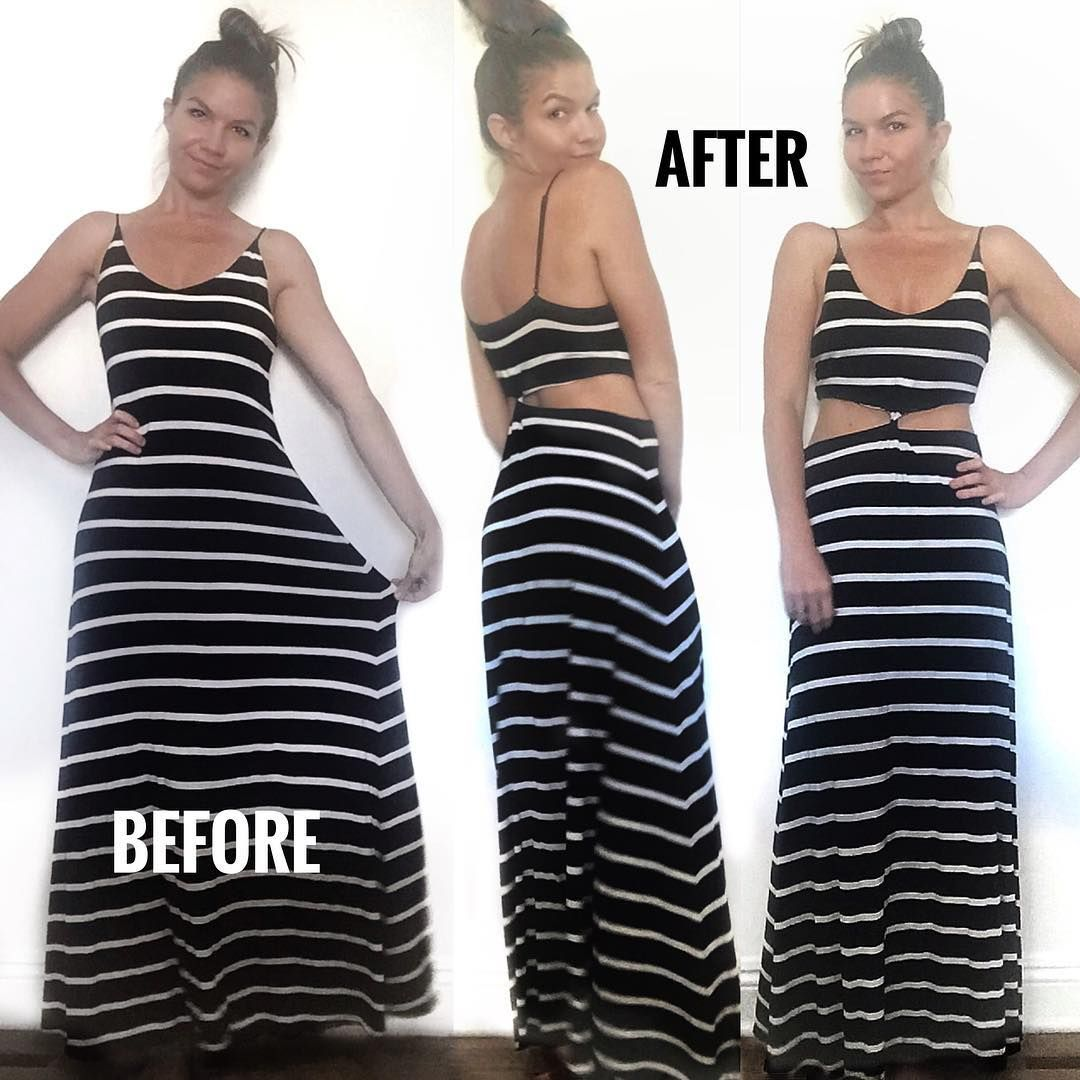 Diy maxi dress makeover