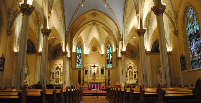 I Want To Get Married Here. St. Mary's Catholic Church