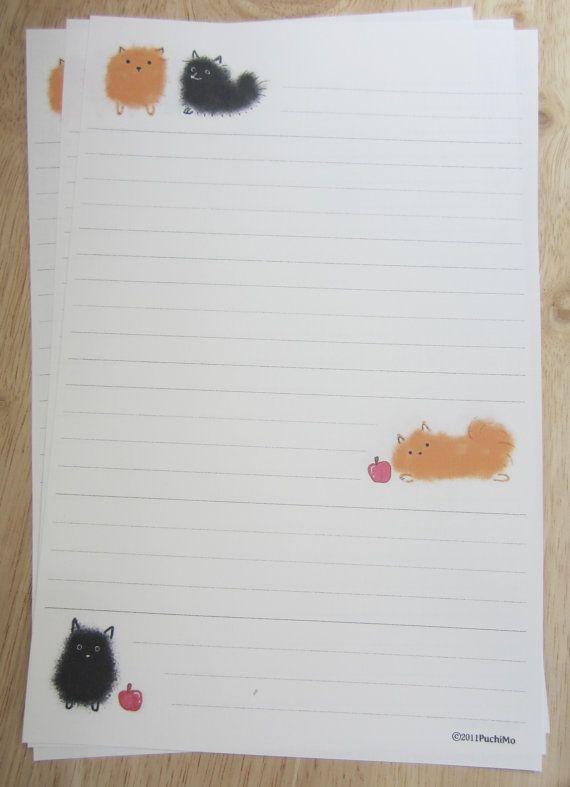 letter paper / Pom - B