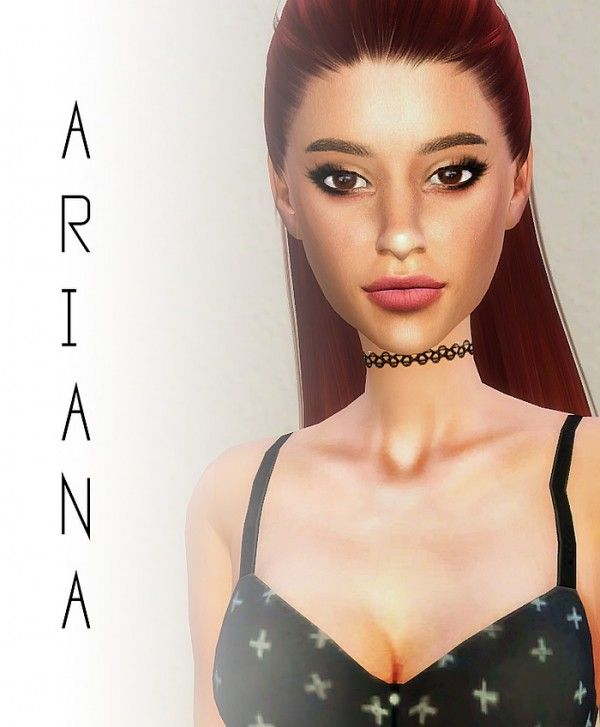 Thank You By Ariana Grande Download: Caeley Sims: Ariana Grande • Sims 4 Downloads