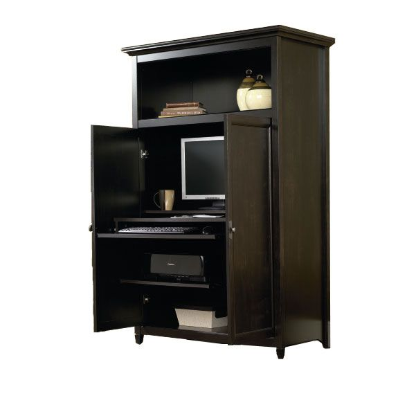 Beau Edge Water Computer Armoire By Sauder