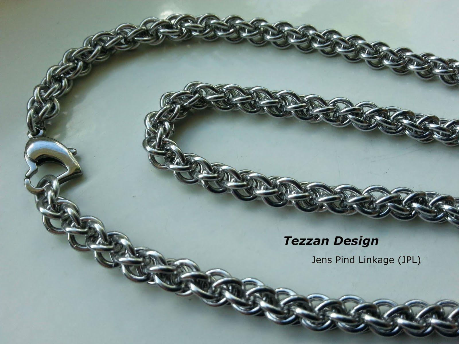 Tezzan design jens pind linkage jpl necklace beadsjewelry