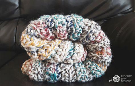 Chunky Crochet Blanket Pattern FREE BLANKET CROCHET PATTERN | Chunky ...