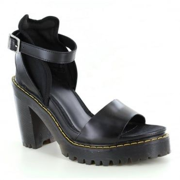 DOC MARTEN Medea Leather Heeled Sandal