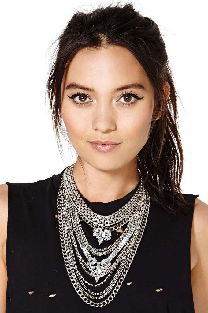 Empire necklace.
