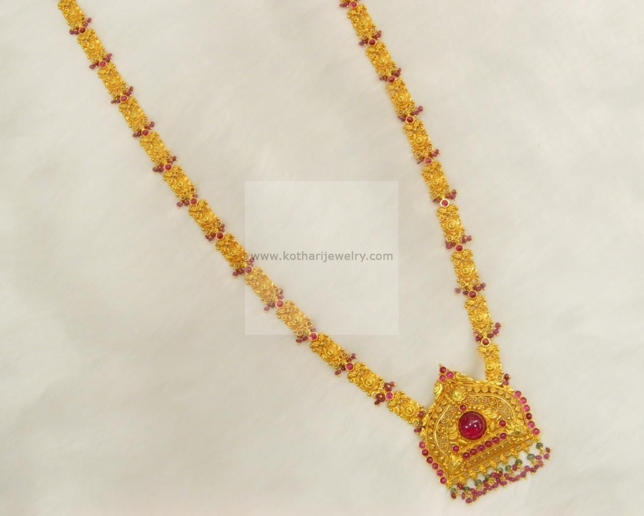 Gold rani haar pictures to pin on pinterest - Gold Jewellery