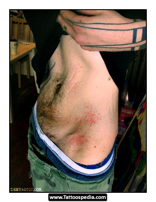 Tattoos Over Stretch Marks On Stomach | Cat Stretch Tattoo ...