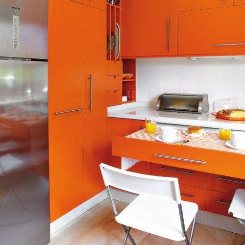 hidden kitchen table