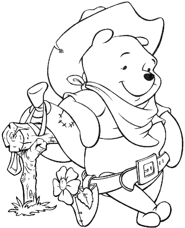 Winnie the Pooh Coloring Pages Disney Disney coloring