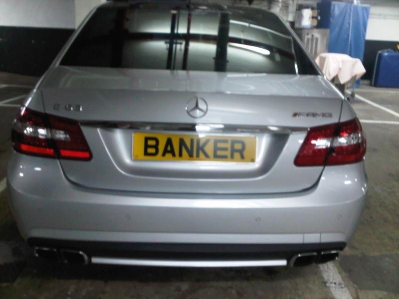 Expensive Banker Number Plate www.Premier-Number-Plate.co.uk ...