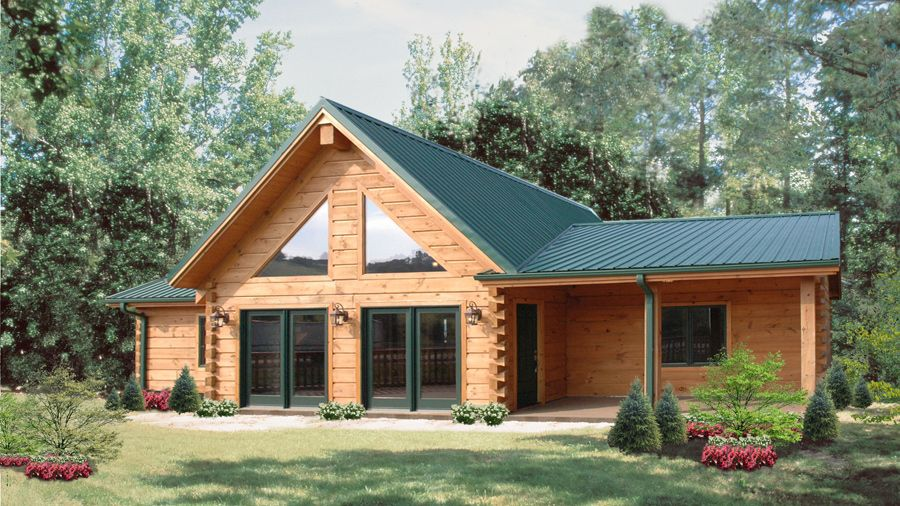 Log Home Design Plan And Kits For Shiloh Cabin Kits Floor Plans Log Home Designs Log Homes