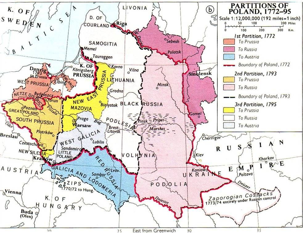 When The Neighboring Countries Of Russia Prussia And Austria Formed