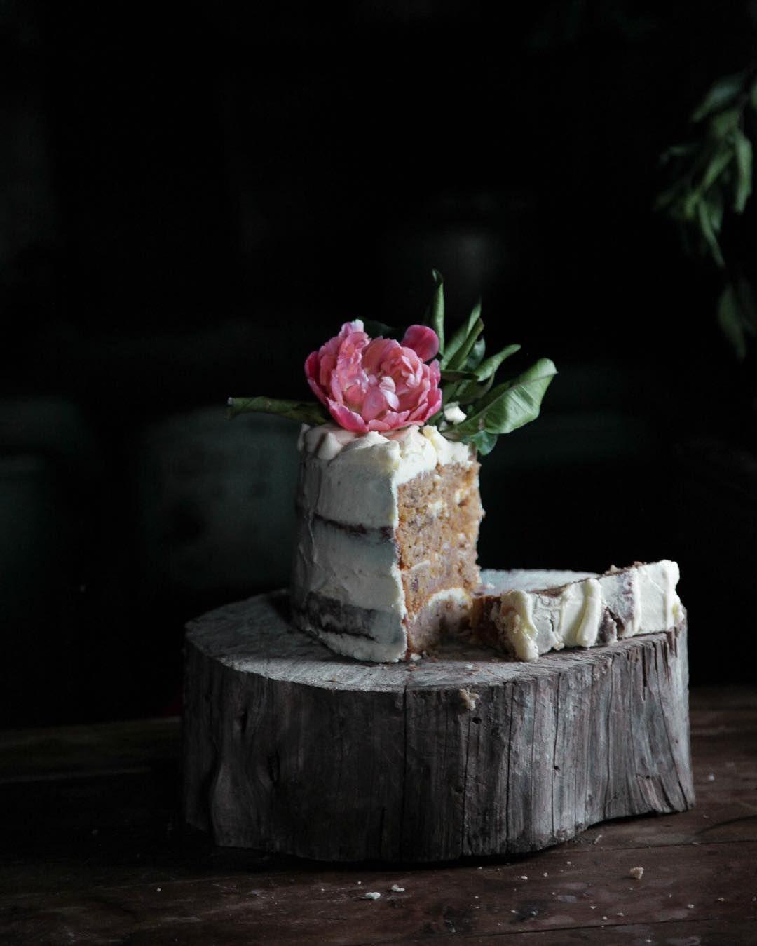 organic carrot cake by Brisbane baker Gillian Bell