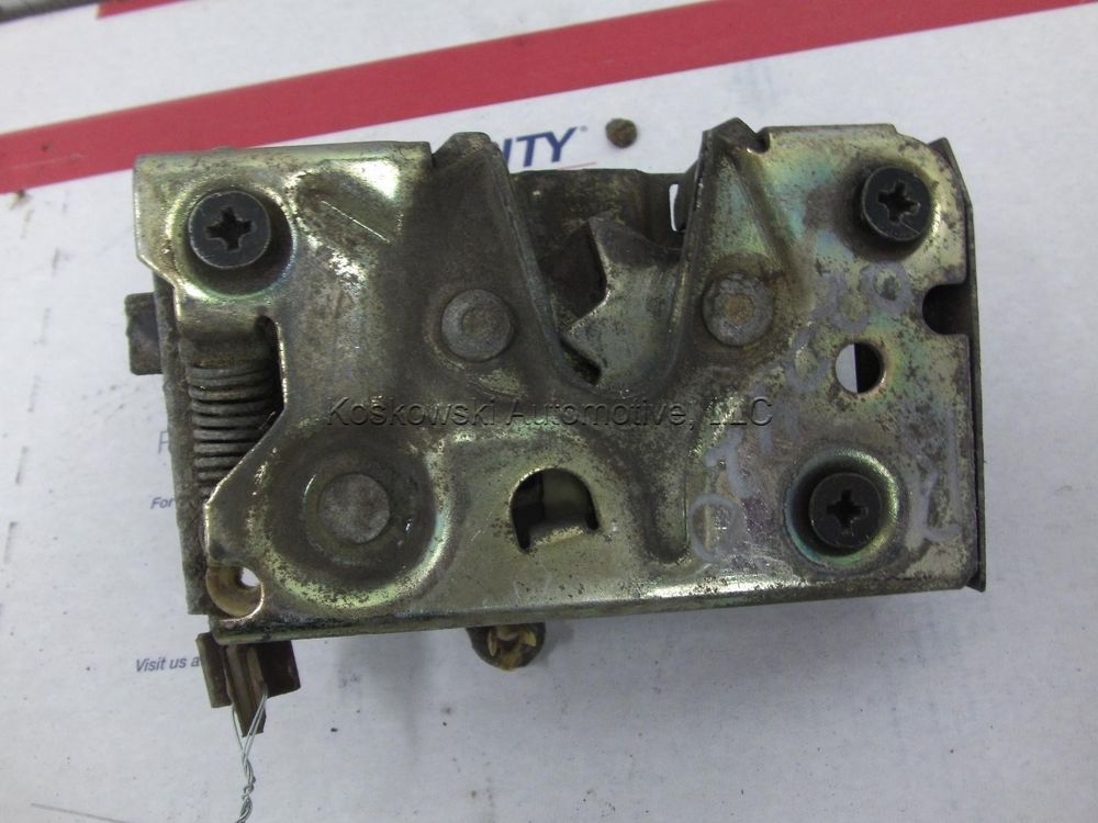 95 Ford F150 Right Front Door Latch Lock Assembly Passenger Side 92 93 94 96 Ford F150 F150 Door Latch