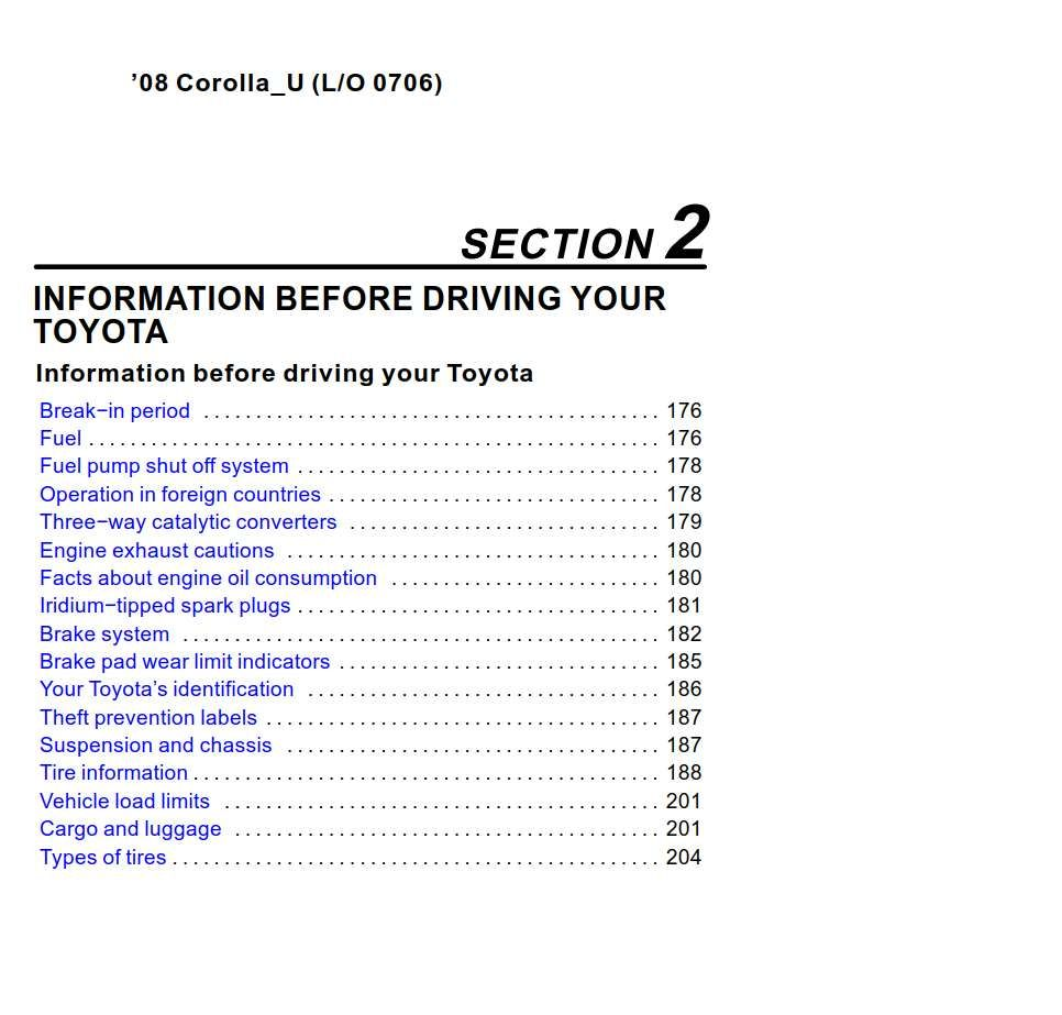 Toyota Corolla 2008 Owner S Manual Has Been Published On Procarmanuals Com Https Procarmanuals Com Toyota Corolla 2008 O Toyota Corolla Owners Manuals Toyota