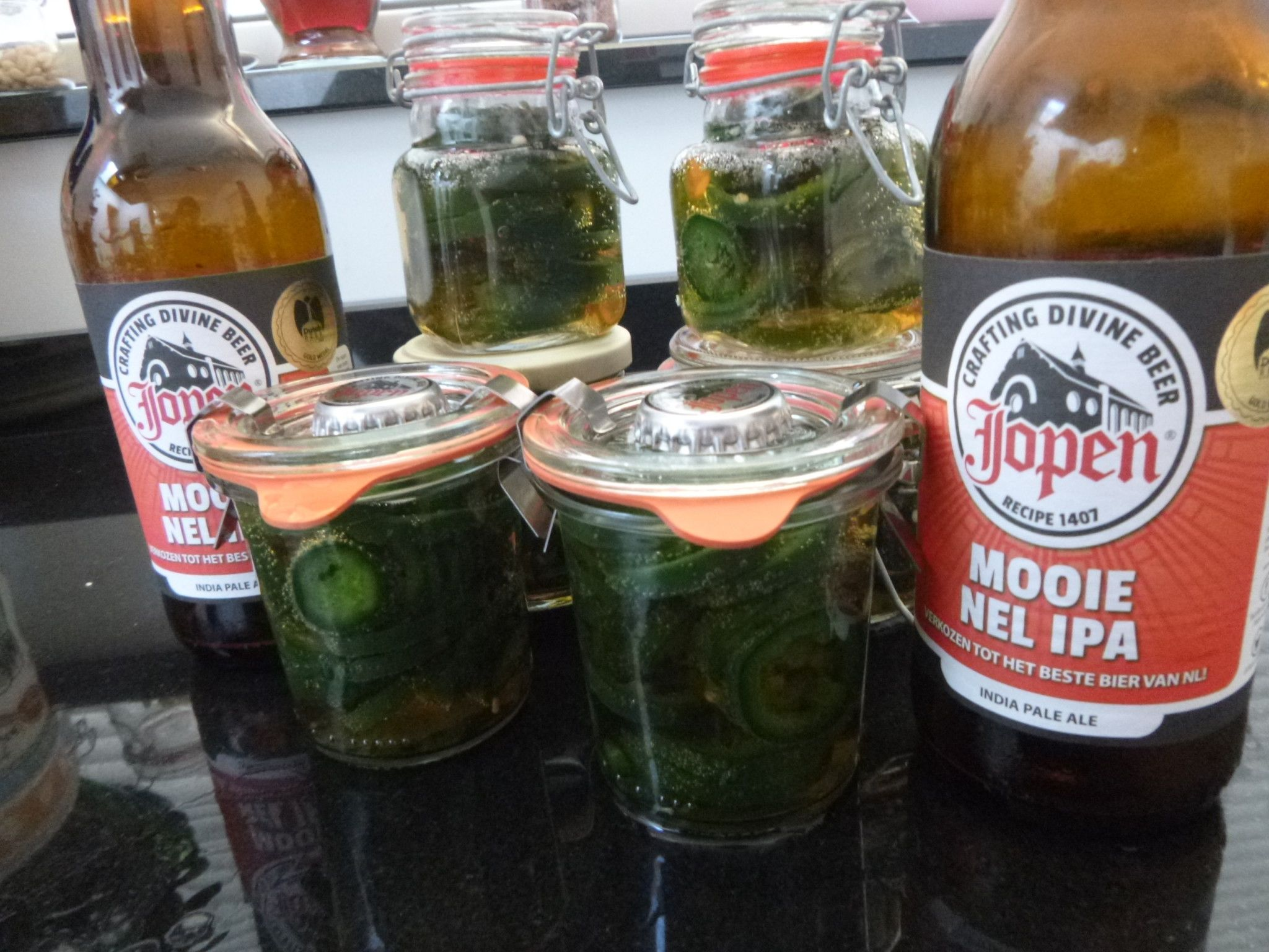 Jopen Mooie Nel IPA pickled Jalapeno pepers