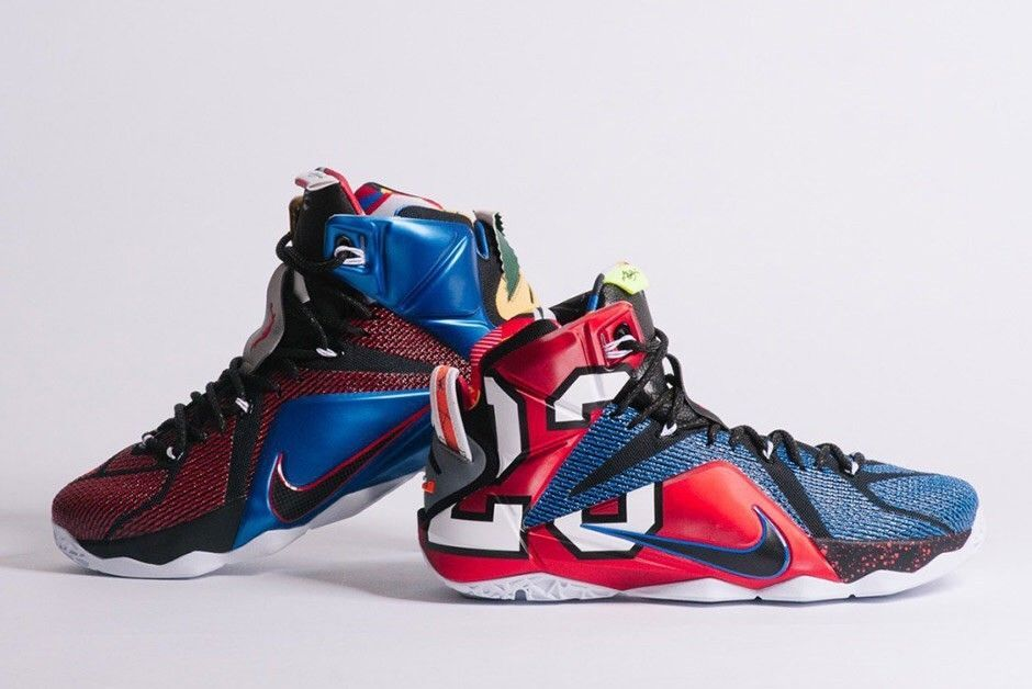 new concept a5497 2a33b NIKE LEBRON XII 12 WHAT THE LeBron 802193-909 Size 10.5 bhm mvp elite yeezy