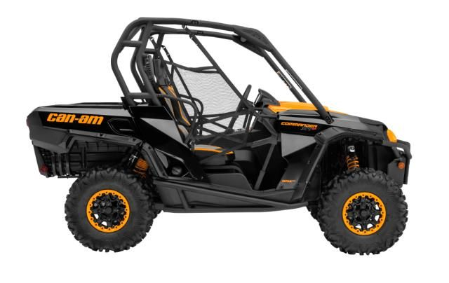 2015 Can Am Commander 1000 Xt P Black And Orange Side Can Am Commander Can Am Cdr