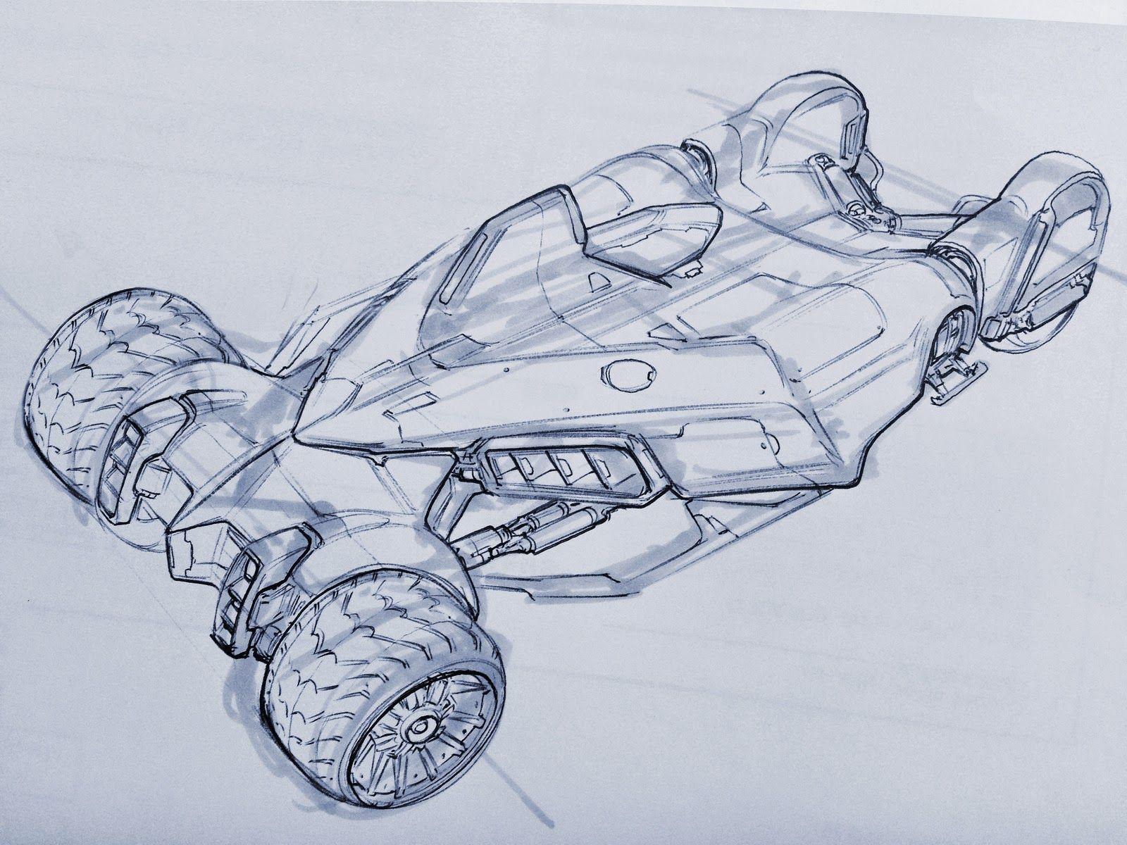 Velocity in 2D: Vehicle Design at Concept Design Academy enrollment ...