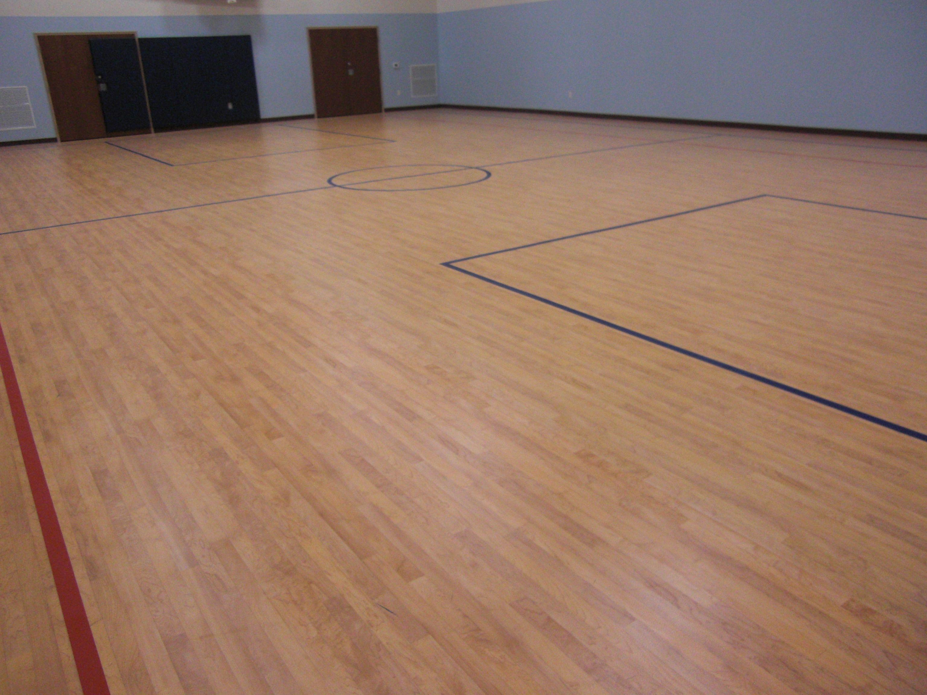 Tarkett Sports Omnisports 5 0 Used In A Multi Purpose Hall In Ephrata Pa Indoor Sports Flooring Sports