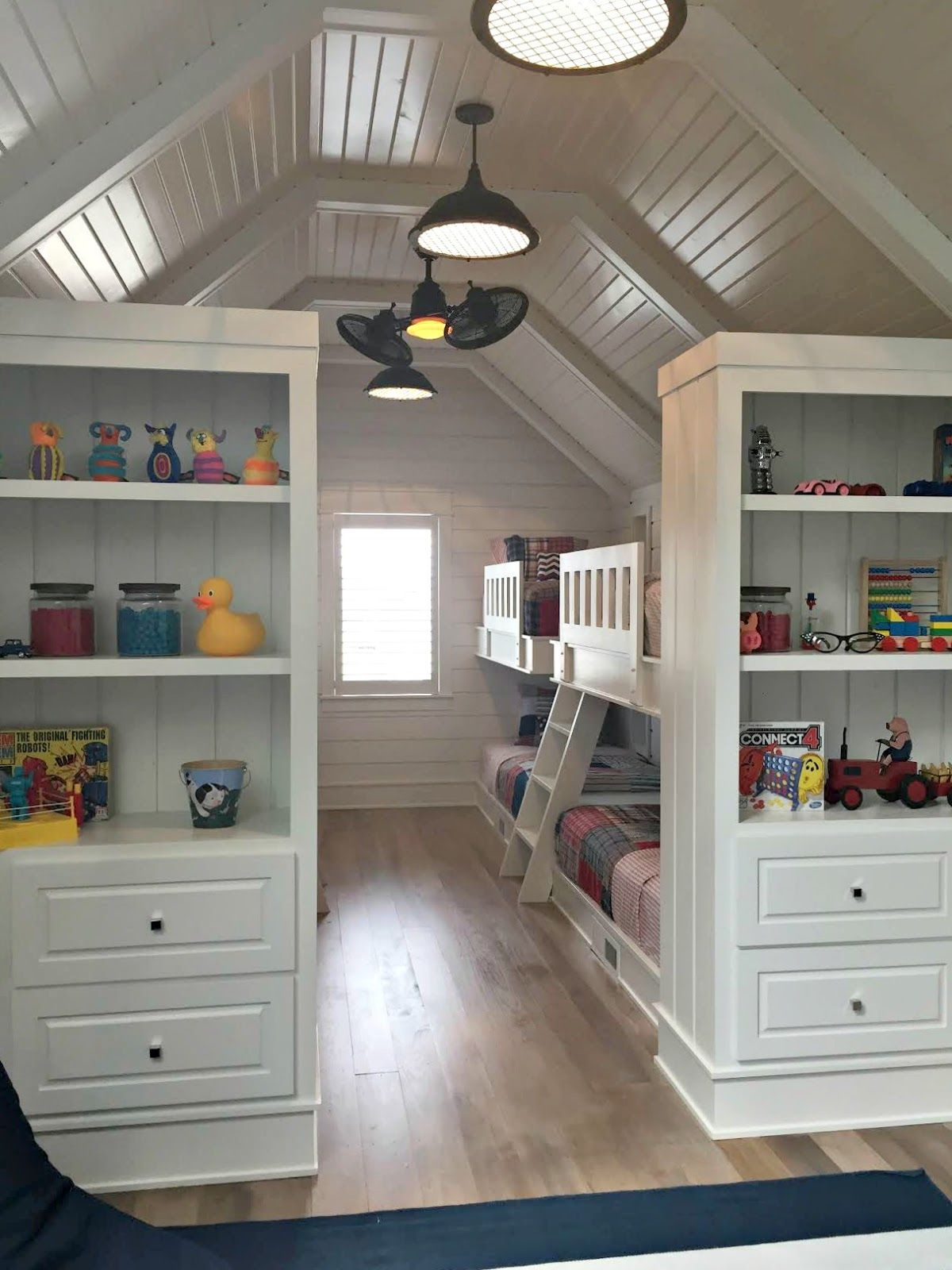 Bunk Beds Designs For Kids Rooms: Bunk Rooms, Attic Bedrooms, Home