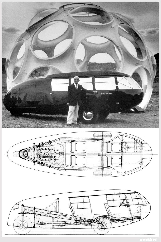 First Dymaxion car produced, 1933 http://3.bp.blogspot.com/_e4ZlIJ ...