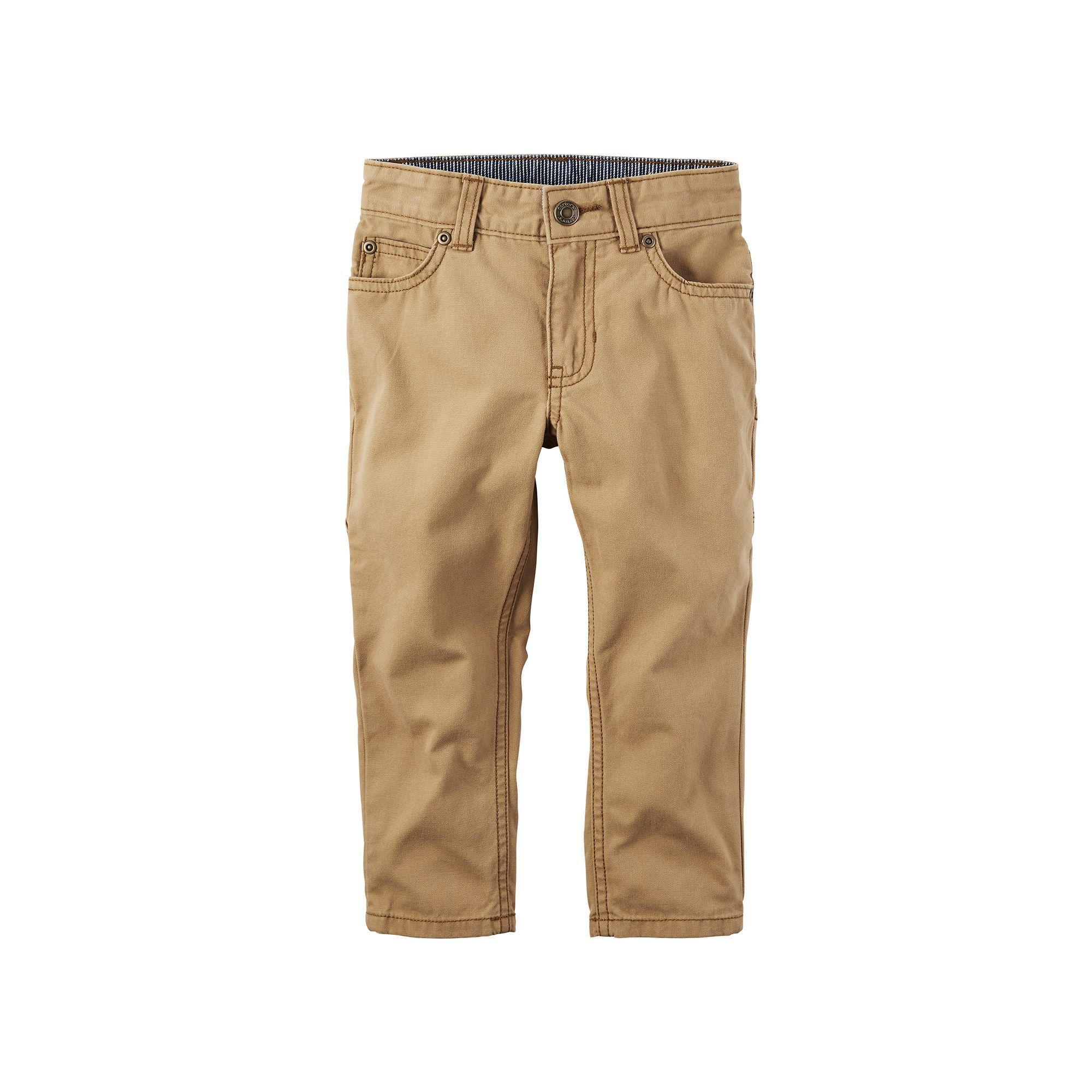 bf4f4dcaba3b Boys 4-8 Carter s Khaki Carpenter Pants