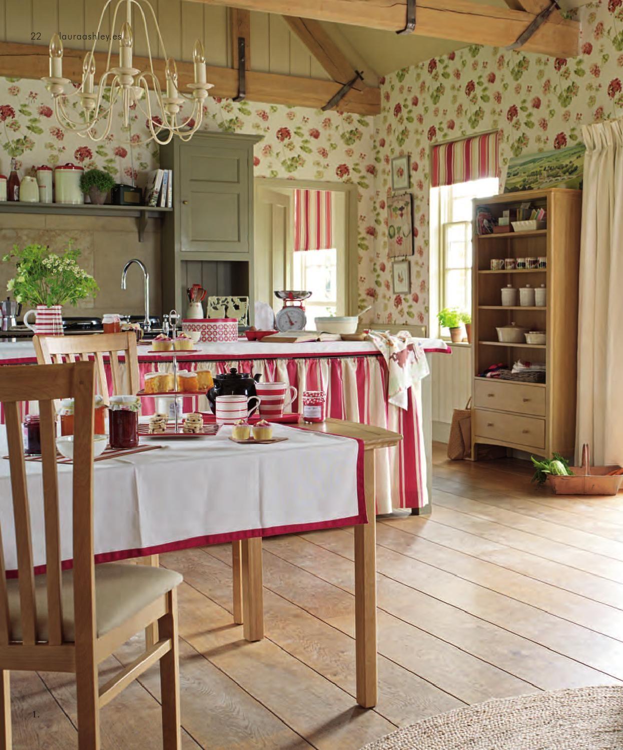 Laura ashley hogar primavera verano 2014 en 2019 for Decoracion de casas acogedoras