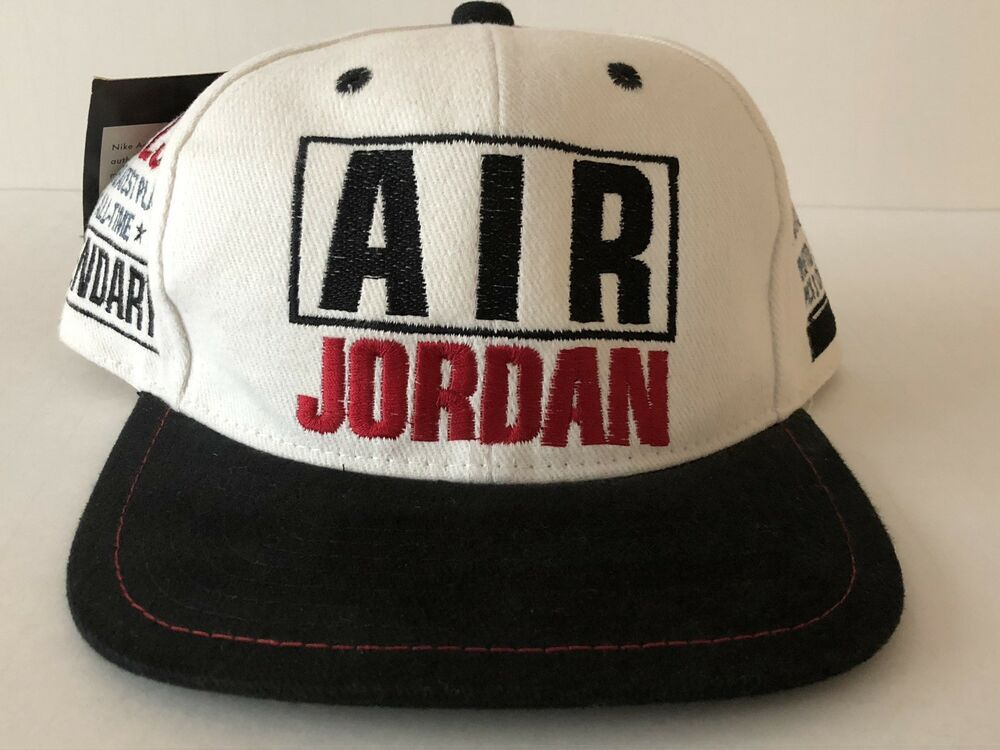 new concept 1a7d7 40625 NWT Vintage Air Jordan Nike Embroidered Hat With Stats Legendary No. 23   fashion  clothing  shoes  accessories  mensaccessories  hats (ebay link)