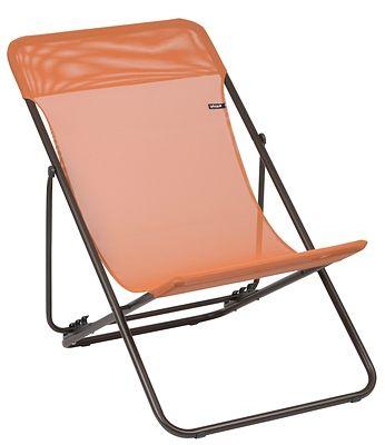Chaise Maxi Transat Potiron Sling Chair Folding Chair Chair