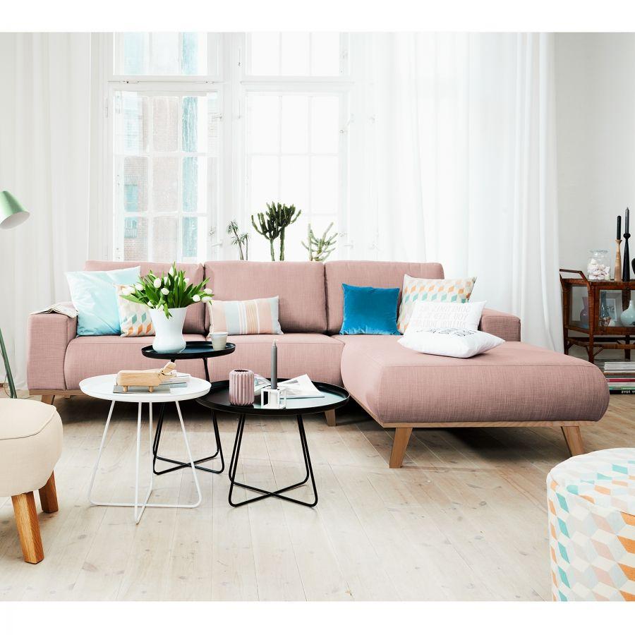 ecksofa eva i webstoff wohnen. Black Bedroom Furniture Sets. Home Design Ideas