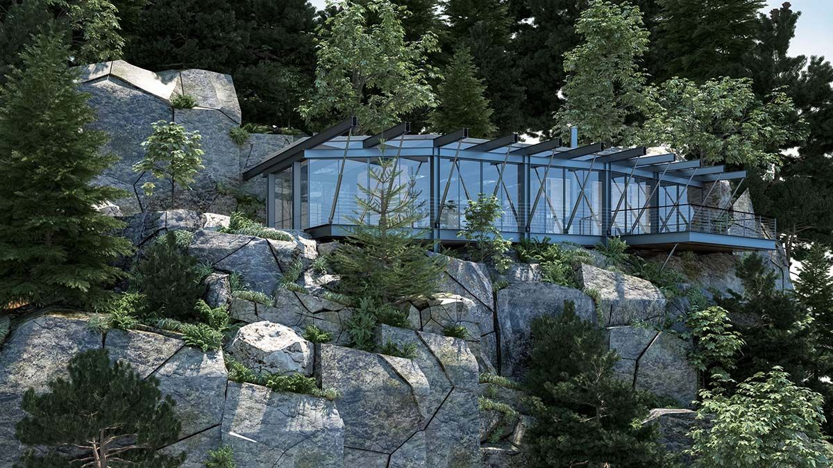 amazing mountain home plans colorado. This conceptually designed house by Israel based Ando Studio was planned  for Jonathan Monjack Architects Modern steel and glass dwelling in the Colorado mountains