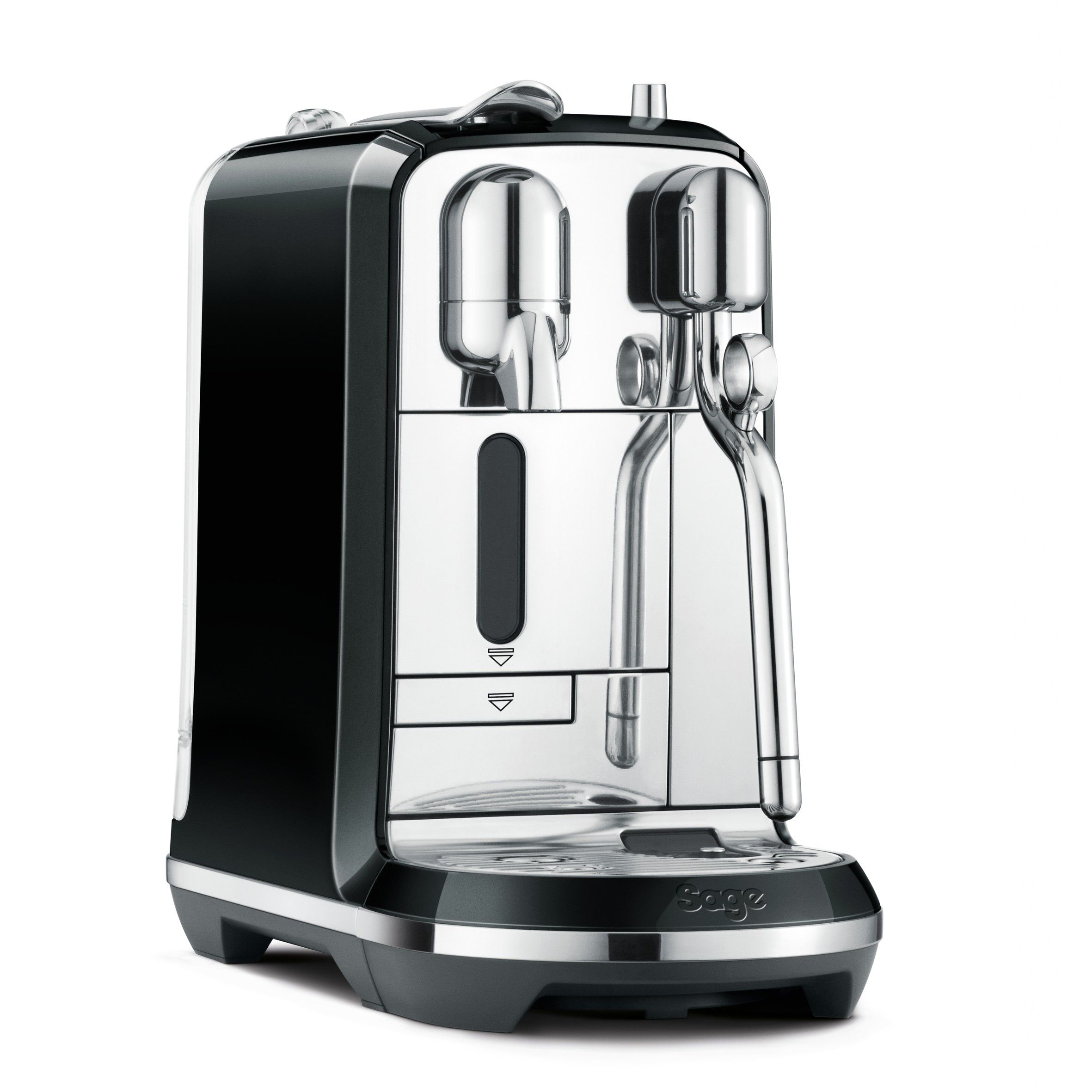 Sage Creatista Nespresso Coffee Machine Black Liquorice