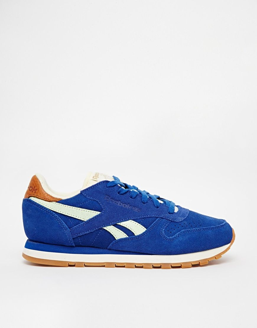 477d96c7c98087 reebok classic leather royal blue retro trainers