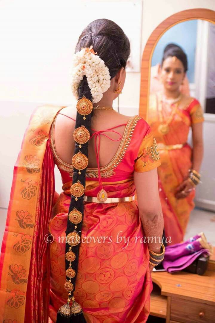 Pin By Saiarjun Kokkonda On Brides Collection Indian Bridal Hairstyles Indian Hairstyles Indian Bridal