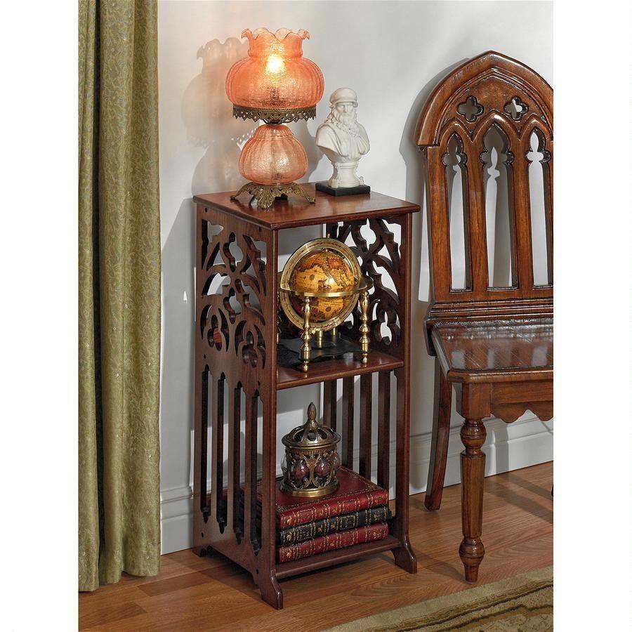 Photo of St. Thomas Aquinas Gothic Side Table