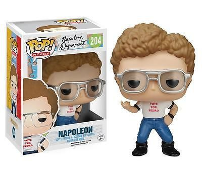 Make it a Dynamite Summer with Napoleon Dynamite Pop! Vinyl Figures! From the quirky comedy following the tale of awkward teen Napoleon helping his new friend run for class President, your favorite characters have been reimagined as stylized vinyl figures. The Napoleon Dynamite Napoleon Pop! Vinyl Figure measures approximately 3 3/4-inches tall and comes packaged in a window display box. Ages 3 and up.