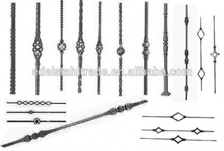 Best Quality Wrought Iron Fence Part Spear Point Spearhead Iron