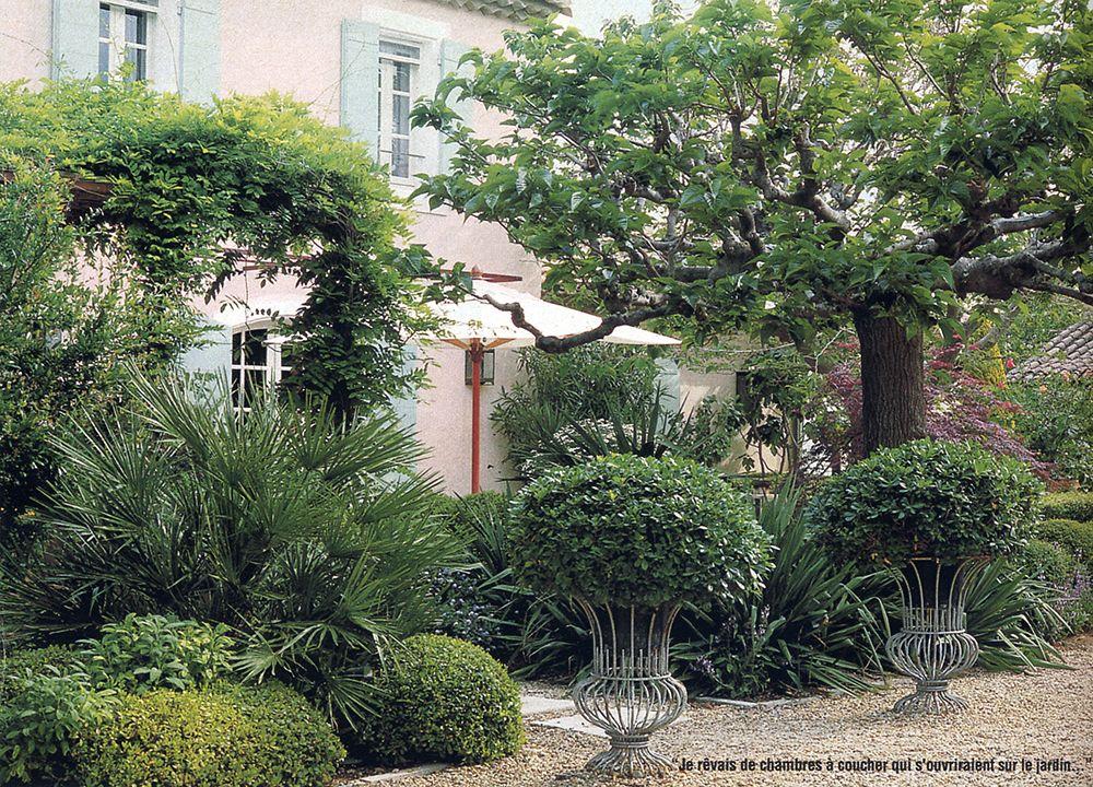 Bosc architectes michel semini paysagiste jacques for Entretien jardin st remy de provence
