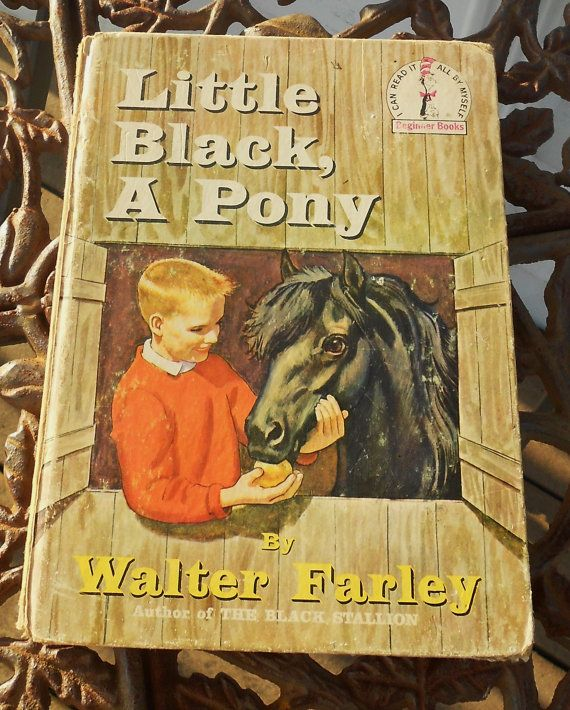 Little Black A Pony  by Walter Farley  by PuddleDuckCottage, $4.00