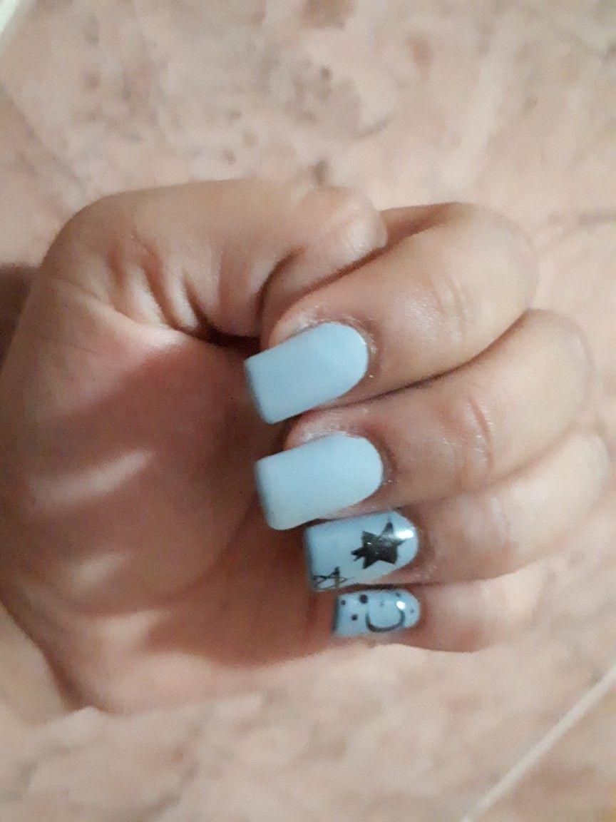 Spacial Nails Nail Art For Work Pinterest